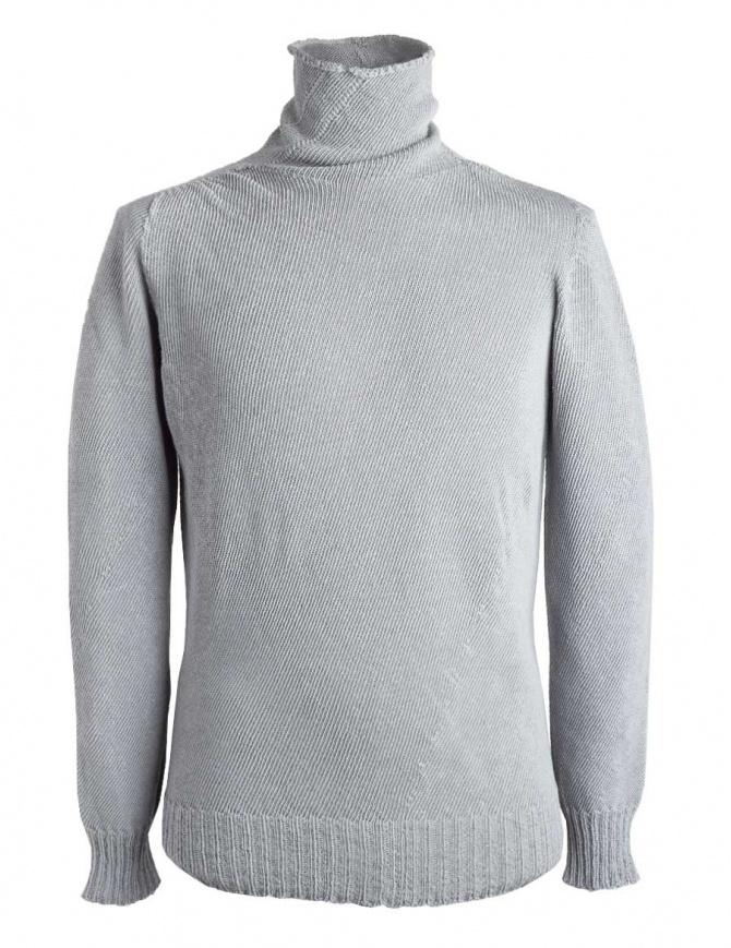 Maglia a collo alto Carol Christian Poell grigia KM/2630-IN PENTASIR/4 maglieria uomo online shopping