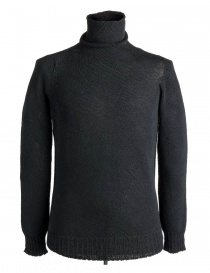 Mens knitwear online: Carol Christian Poell turtleneck sweater in black