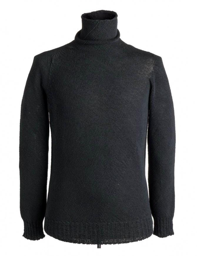 Maglia a collo alto Carol Christian Poell nera KM/2630-IN PENTASIR/10 maglieria uomo online shopping