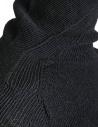 Maglia a collo alto Carol Christian Poell nera KM/2630-IN PENTASIR/10 prezzo