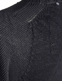 Carol Christian Poell anthracite black crew neck sweater price