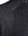 Carol Christian Poell anthracite black crew neck sweater KM/2629-IN PENTASIR/10 price