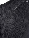 Maglia girocollo Carol Christian Poell nera antracite KM/2629-IN PENTASIR/10 prezzo