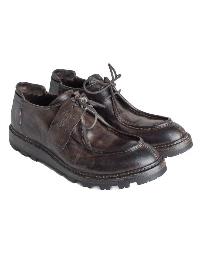 Shoto Ban Giungla Brown Shoes 2445 BAN GUNGLA WASHED T mens shoes online shopping