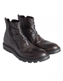 Mens shoes online: Shoto Jump boots with double zipper