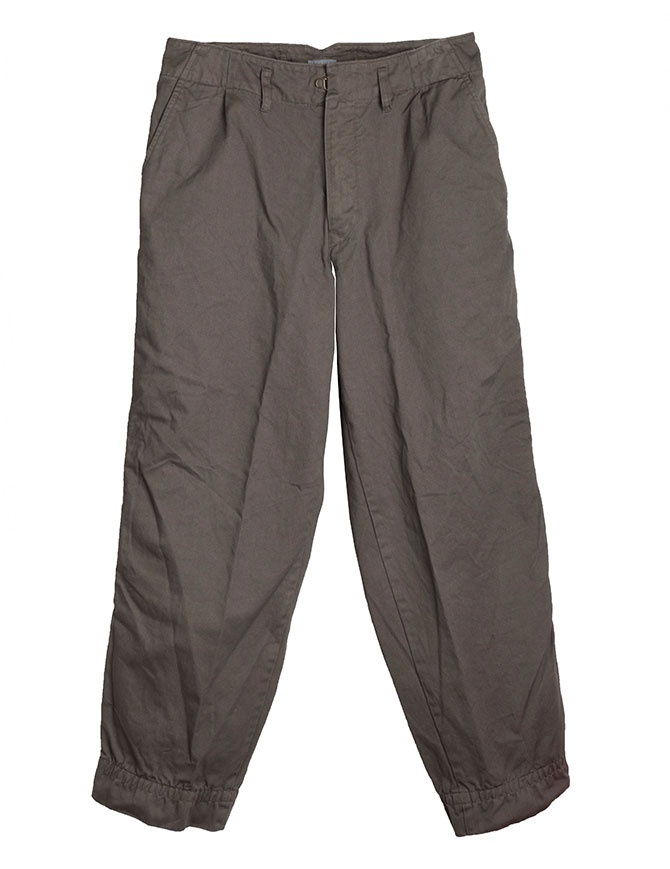 Olive Green Kolor Beacon Trousers 18WBM-P05139 B-OLIVE mens trousers online shopping