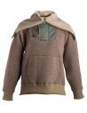 Kolor beige wool jacket with hool buy online 18WRM-T01232 A-BEIGE