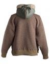 Kolor beige wool jacket with hool 18WRM-T01232 A-BEIGE buy online