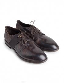 Mens shoes online: Shoto Suede Dive brown shoes
