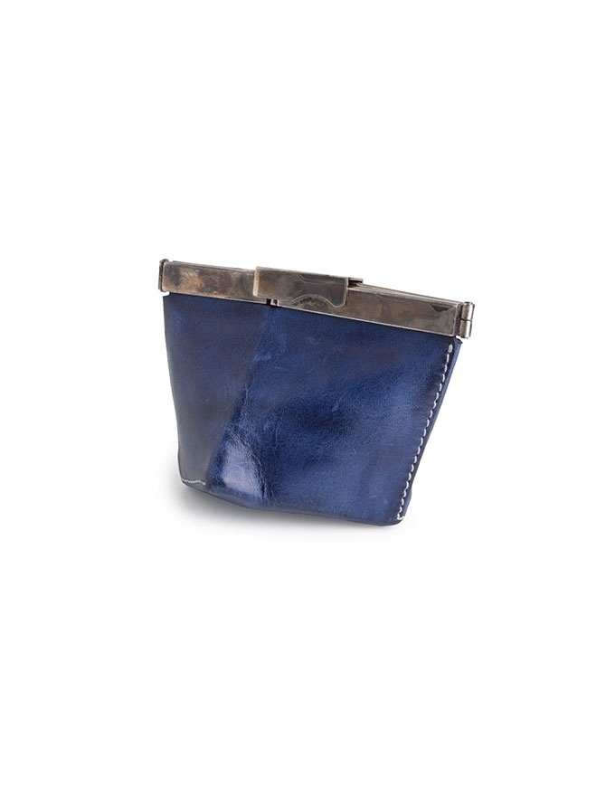 Carol Christian Poell coin purse in blue horse leather AM/2452 CORS-PTC/16 wallets online shopping