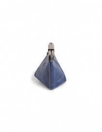 Carol Christian Poell coin purse in blue horse leather