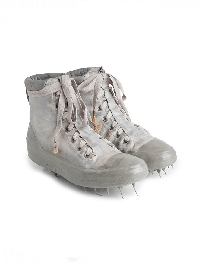 Sneakers alte Carol Christian Poell in verde militare e grigio AM/2524 ROOMS-PTC/33