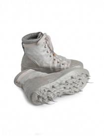 Sneakers alte Carol Christian Poell in verde militare e grigio calzature uomo acquista online