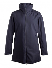 Mens coats online: Alltterain By Descente dark blue waterproof jacket