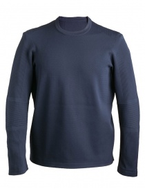 Mens knitwear online: Allterrain By Descente Crew dark blue Pullover