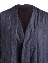Plantation blue crinkled long coat PL88FA719-13 NAVY price