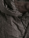 Cappotto Plantation lungo stropicciato verde militare PL88FA719-09 KHAKI prezzo