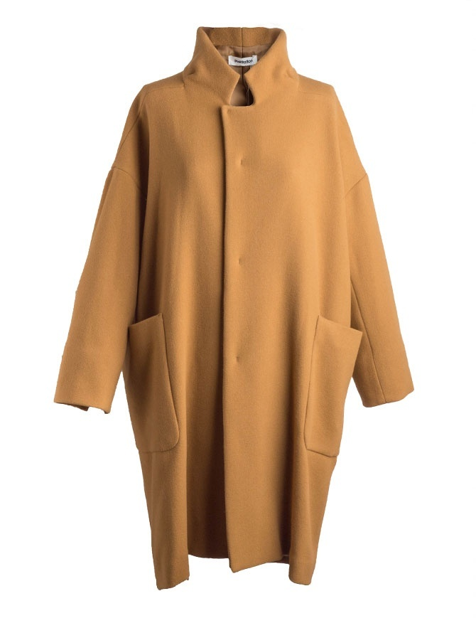Cappotto Plantation cammello stile vintage PL88-FA722-04 CAMEL cappotti donna online shopping