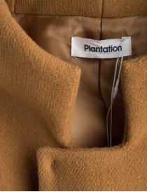 Plantation vintage style camel coat price