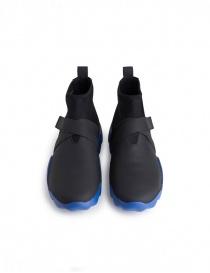 Sneaker alta Camper Dub nera e blu calzature uomo acquista online