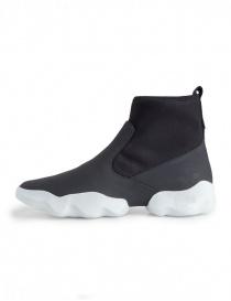 Sneaker alta Dub Camper nera e bianca