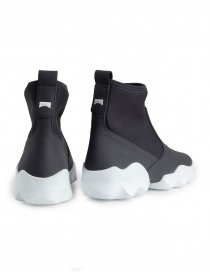 Dub Camper high-top sneakers in black and white price