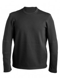 Mens knitwear online: Allterrain By Descente Crew black Pullover