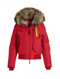 Womens jackets online: Parajumpers Gobi scarlet red bomber