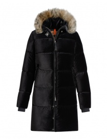 Parajumpers Sindy Limited Edition black velvet coat online