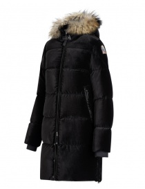 Cappotto Parajumpers Sindy Limited Edition velluto nero