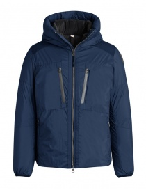 Parajumpers Kara blue hooded down jacket online