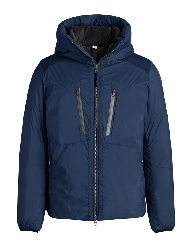 Parajumpers Kara blue hooded down jacket PM JCK KP01 KARA 701 mens jackets online shopping
