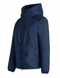 Parajumpers Kara blue hooded down jacket