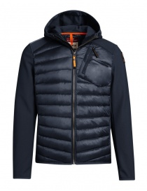 Parajumpers Nolan navy blue jacket with hood for man PM JCK WU02 NOLAN 560 order online