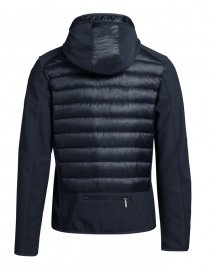 Parajumpers Nolan navy blue jacket with hood for man price