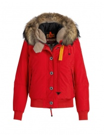 Womens jackets online: Parajumpers Tribe red bomber with hood