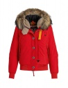 Parajumpers Tribe red bomber with hood buy online PW JCK PQ31 TRIBE 723