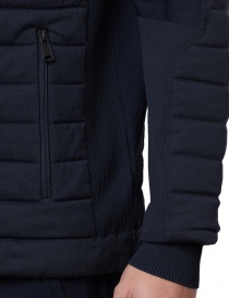Ze-Knit by Napapijri Ze-K100 blue bomber mens jackets buy online