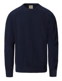 Ze-Knit by Napapijri crew neck blue navy pullover Ze-K106 N0YHW0176-ZE-K106 BLU MAR