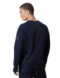 Ze-Knit by Napapijri crew neck blue navy pullover Ze-K106