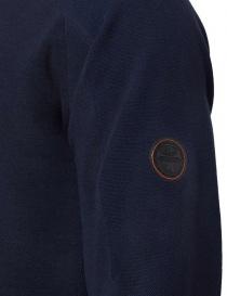 Ze-Knit by Napapijri crew neck blue navy pullover Ze-K106 price