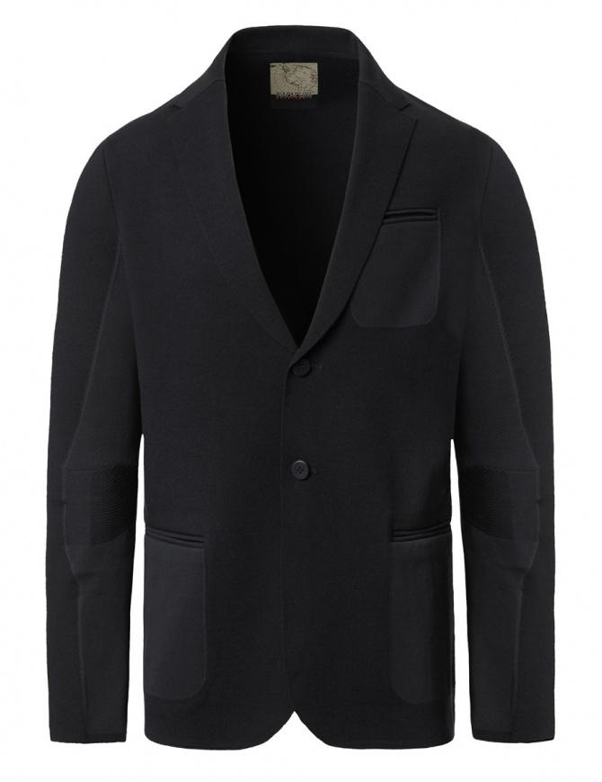 Ze-Knit by Napapijri black blazer Ze-K102 N0YHW1041-ZW-K102 BLACK mens suit jackets online shopping