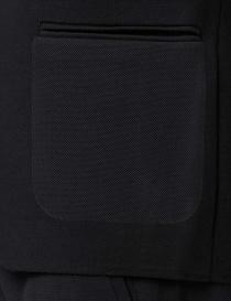 Ze-Knit by Napapijri black blazer Ze-K102 mens suit jackets buy online