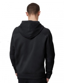 Ze-Knit by Napapijri Rainforest Ze-K103 hooded sweatshirt in black