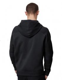 Ze-Knit Napapijri Felpa Rainforest Ze-K103 nera con cappuccio acquista online
