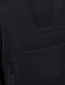 Ze-Knit Napapijri Rainforest Ze-K103 black hooded sweatshirt mens knitwear buy online
