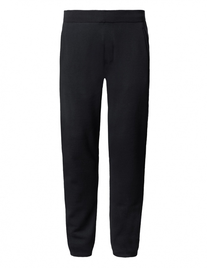 Ze-Knit by Napapijri black sweatpants Ze-K107 N0YHW9041-ZE-K107 BLACK mens trousers online shopping