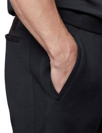 Ze-Knit by Napapijri black sweatpants Ze-K107 mens trousers buy online