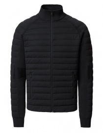 Ze-Knit by Napapijri Ze-K100 black bomber jacket for Men N0YI3D041-ZE-K100-BLACK order online