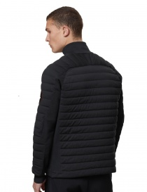 Ze-Knit by Napapijri Ze-K100 black bomber jacket for Men